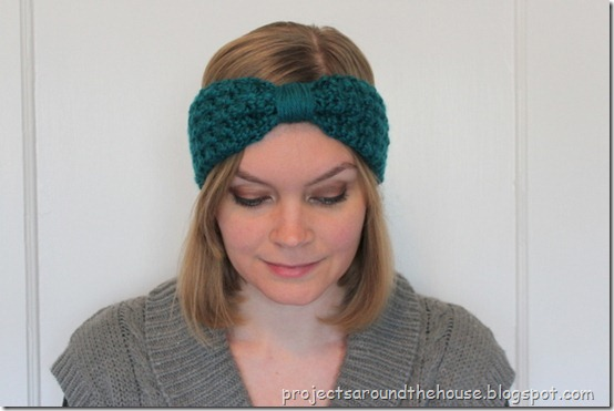 Crochet turban ear warmer free pattern