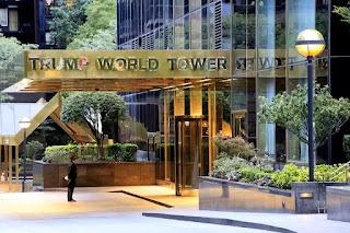 Diệp Giản Minh đã mua một căn hộ hai phòng ngủ trong Tháp Thế giới Trump nhìn ra trụ sở LHQ ở New York.