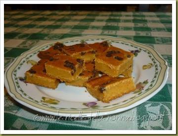 Dolcetti allo yogurt con carote, gocce di cioccolato e succo di mandarino (14)