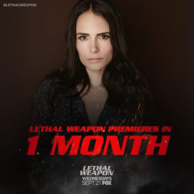 I'm so excited because the premiere of LethalWeapon is officially ONE MONTH away