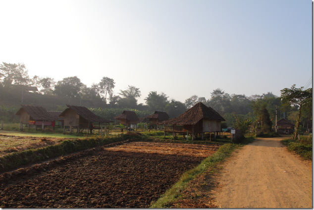Bambook Huts in Pai Village