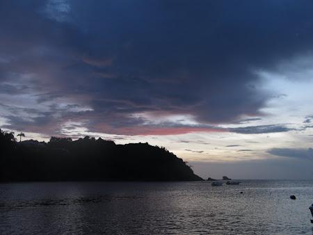 Apus de soare in Caraibe