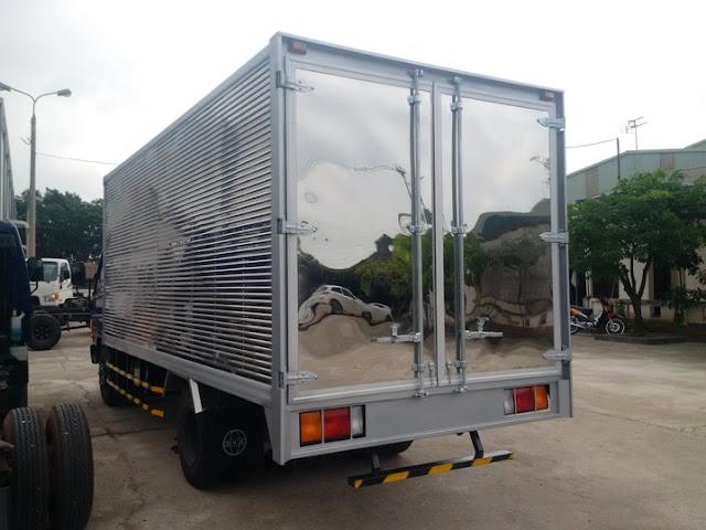 xe tải 8 tấn đô thành thùng kín