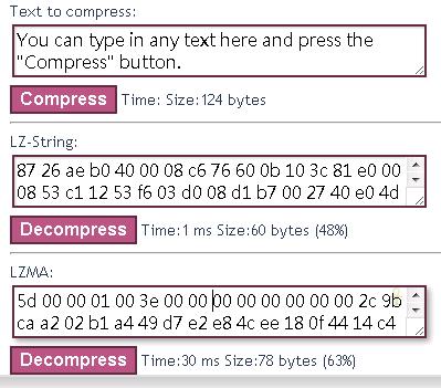 JavaScript的字串壓縮函式庫:lz-string - 布丁布丁吃什麼?