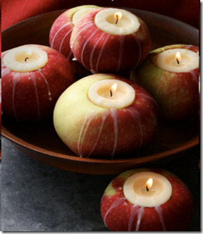 apple candles partyfrosting