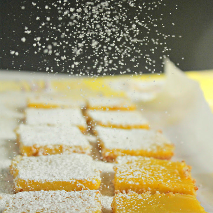 Gluten-Free Lemon Bars with an Almond Crust Recipe