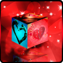 3D Love Cube HD Live Wallpaper icon