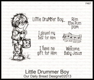 Little Drummer Boy, Our Daily Bread designs