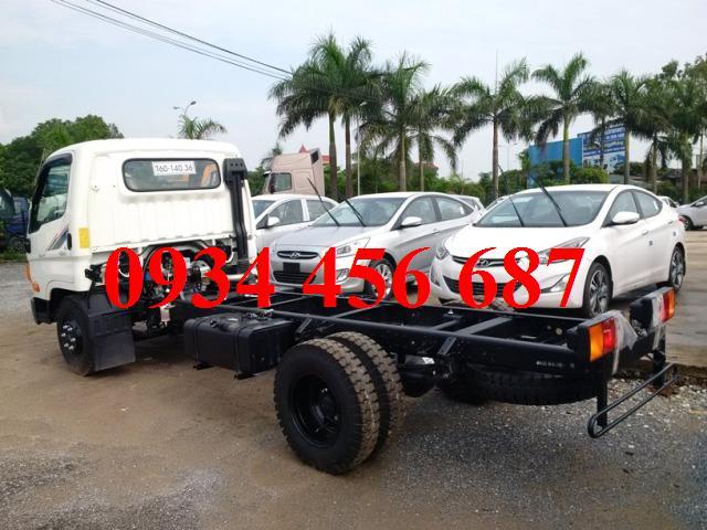 Xe Đồng vàng lên tải 6 tấn HD600