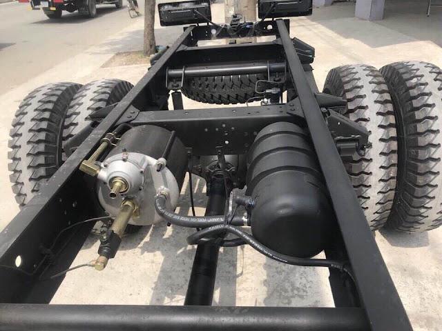 Hệ thống gầm, cầu xe Dothanh HD120s