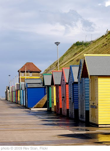 'Sheringham beach huts' photo (c) 2009, Rev Stan - license: http://creativecommons.org/licenses/by/2.0/