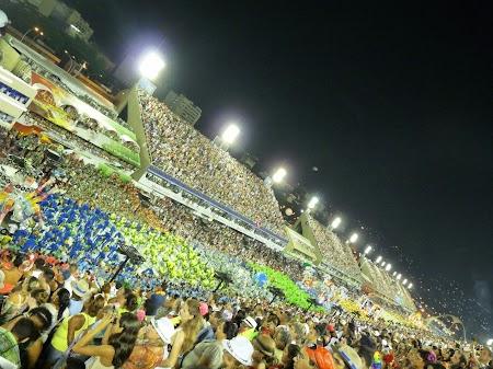 Carnavalul de la Rio:  Sambodrom