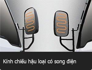 Kính chiếu hậu song điện Đô Thành HD99