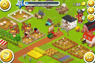 4日目のHayDay農場
