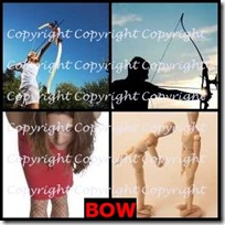 BOW- 4 Pics 1 Word Answers 3 Letters