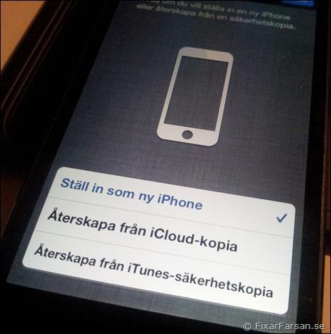 anslut till itunes iphone 5