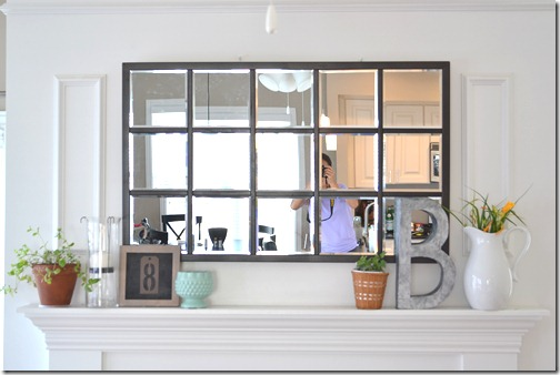 House Stuff Works: DIY Pottery Barn Knockoff Mirror