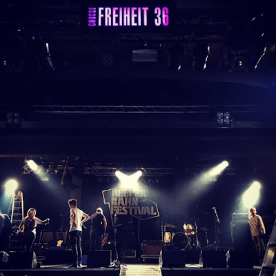 Playing the Grosse Freiheit tonight at 1115 pm
