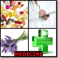 MEDICINE- 4 Pics 1 Word Answers 3 Letters