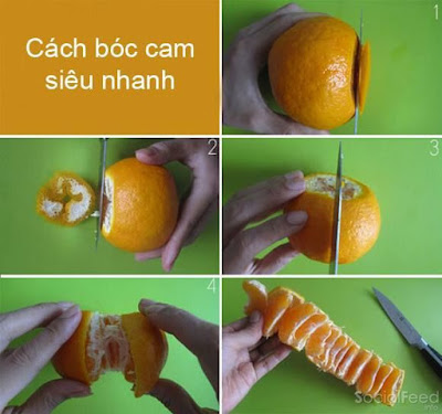 Bóc cam đơn giản như vầy mà trước giờ ko biết :D