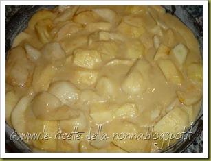 Torta di mele e pere con farina semintegrale e zucchero di canna (8)