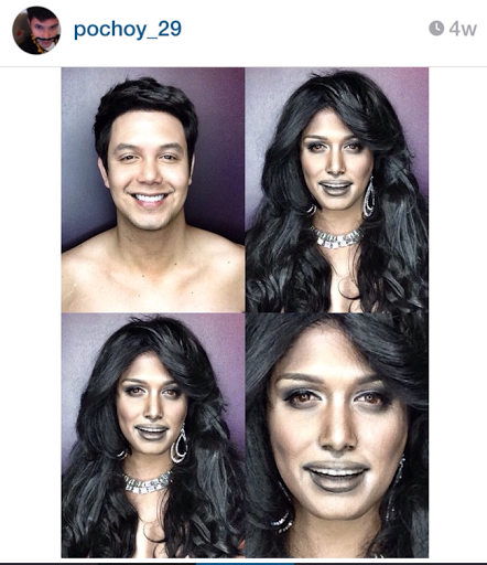 PHOTOS: Dad Transforms Himself Into Celebrities Using Makeup And Wigs 14