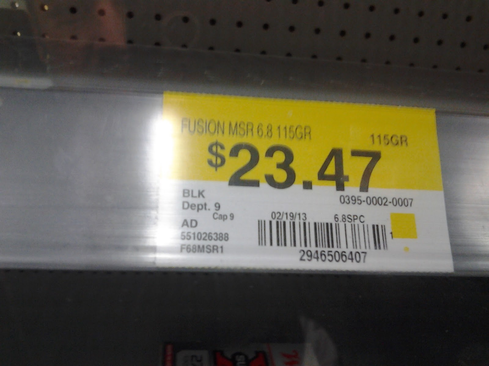 Zombie Rush: Midway lists Federal 6 8 ammo update WalMart too