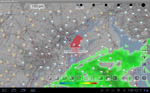 eWeather HD, Radar HD, Alerts - screenshot thumbnail