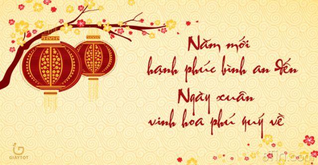 Chúc mừng năm mới cả nhà, cảm ơn cả nhà đã luôn