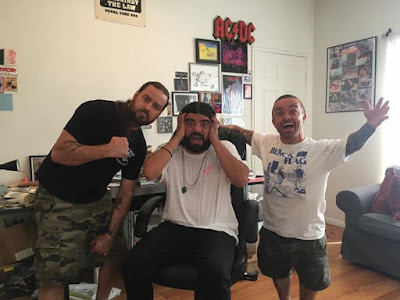 Going Live on our page Facebooktheboymanshow Thats NECKFACE joining us 20 mins