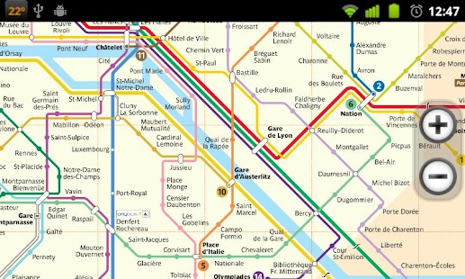 Paris Subway - screenshot thumbnail