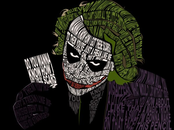 awesome joker word poster koogly s world