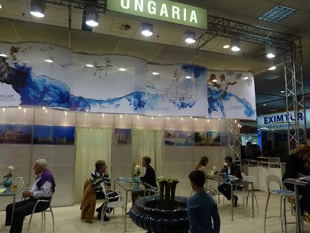 Stand Ungaria la targul de turism