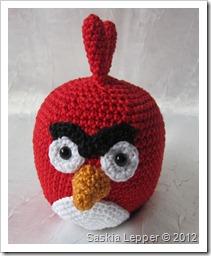 Kleines Fadenallerlei Red Angry Bird