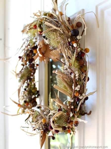 Stash Buster Fall Wreath