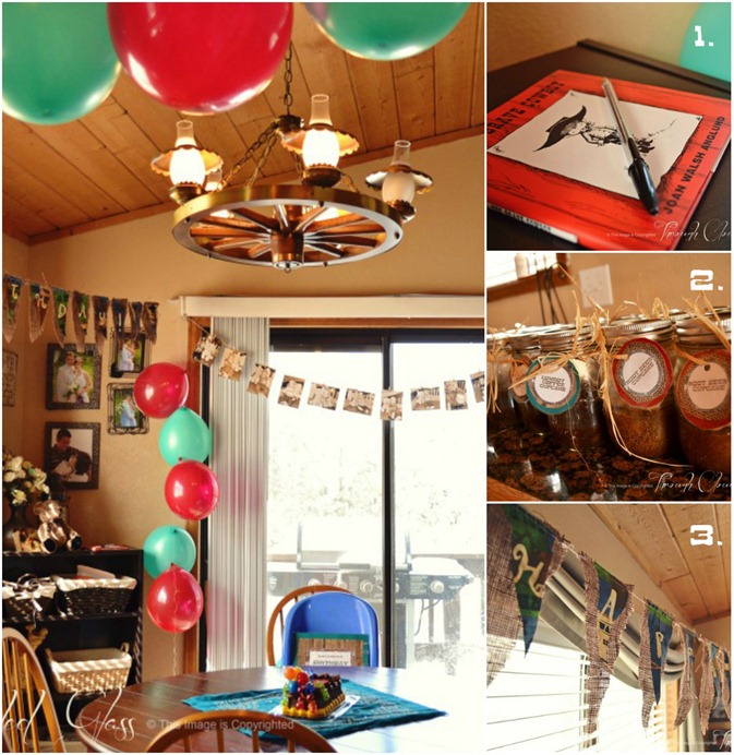 "Cowboy ""Round Up"" First Birthday Party 