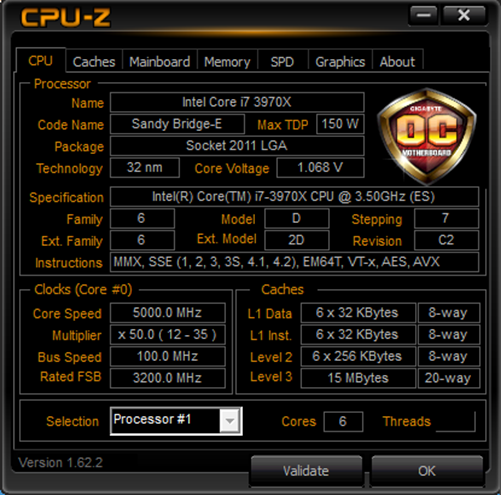 GIGABYTE Tech Daily: CPUID launches GIGABYTE OC version of CPU-Z