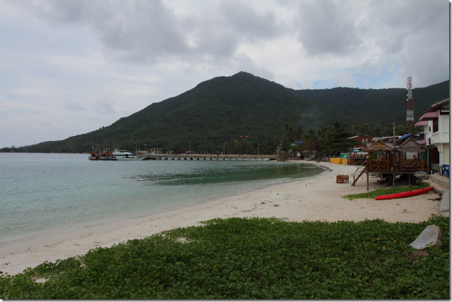 Chaloklum - the fisherman's beach at Koh Phangan