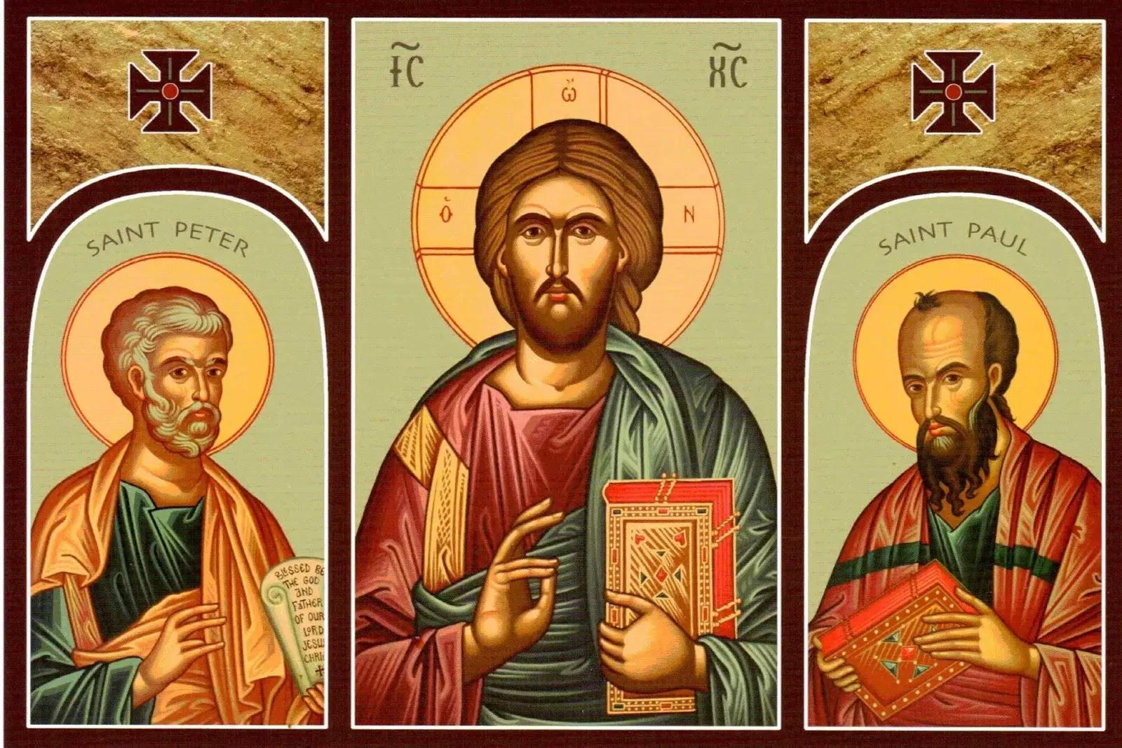 Một bên là thánh Phêrô, một bên là thánh Phaolô, khác biệt lắm, nhưng luôn có Thầy Giêsu ở giữa!