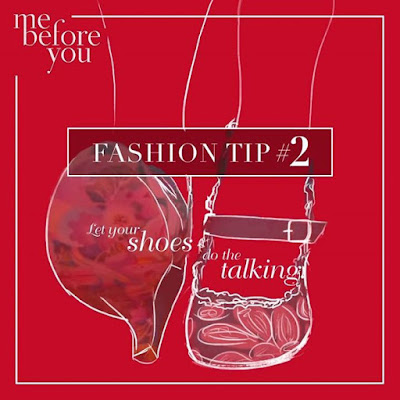 Let your shoes do the talking MeBeforeYou