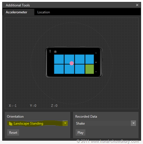 WP7.1 Demo - Expanded Accelerometer in Landscape Mode[3]