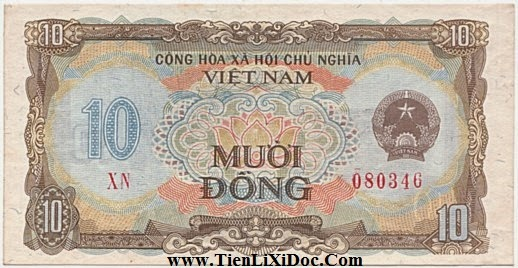 10 Đồng Việt Nam 1980