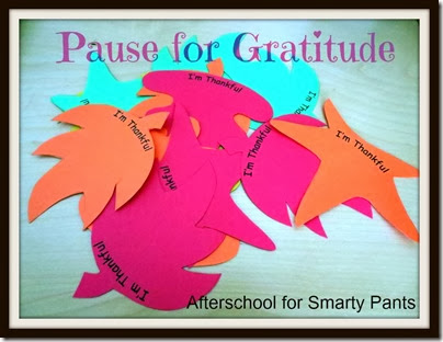 Afterschool for Smarty Pants: Teaching Gratitude