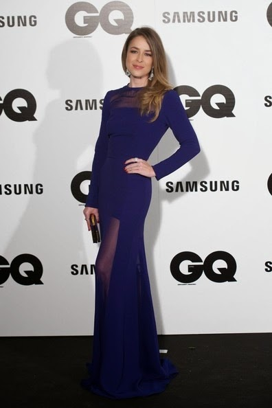 Silvia Abascal attends the GQ 2014 Men of the Year awards