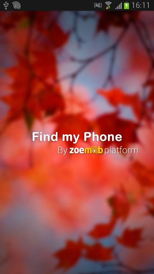 Find my phone - screenshot