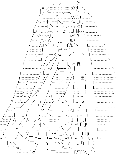 Hatsune Miku Ascii Art List Asciiart Asciiart