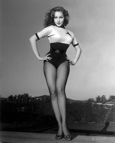 Hollywood or bust Julie Newmar in 1953 …