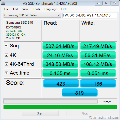 as-ssd-bench Samsung SSD 840  2013-06-01 8-48-37 AM
