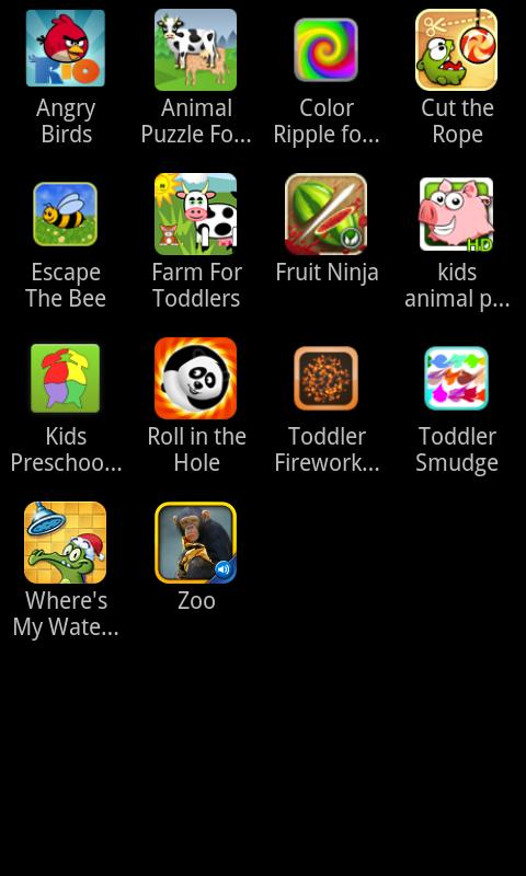 Toddler Central- screenshot