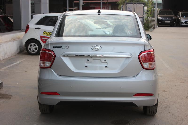 Xe Hyundai Grand i10 sedan 1.2MT Màu bạc 07
